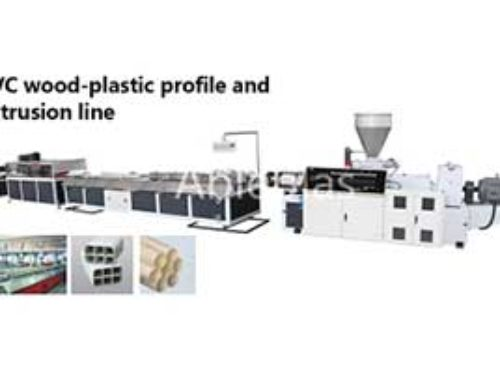 PVC fence making machine line