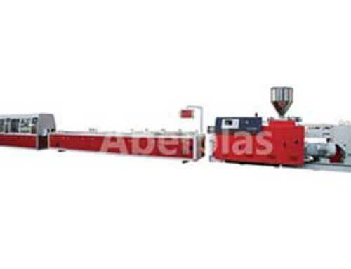 PVC skirting board making machine line