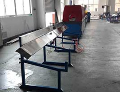 PVC windowsill making machine line