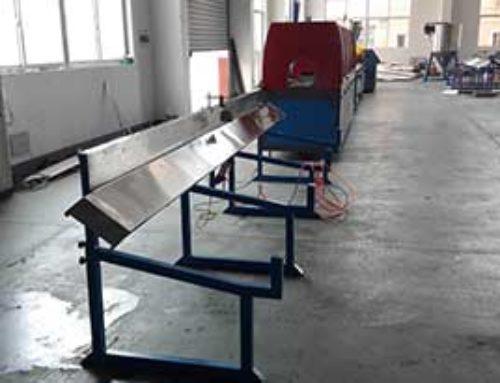 PVC windowsill making machine line