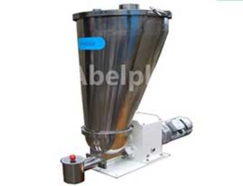 Volumetric twin Screw Feeder