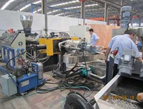 Waste Plastic Scraps Granulating Line